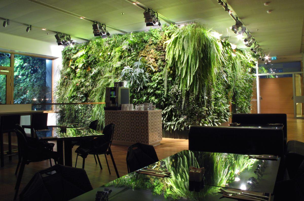 In pictures: 6 breathtaking indoor vertical gardens - , Projects