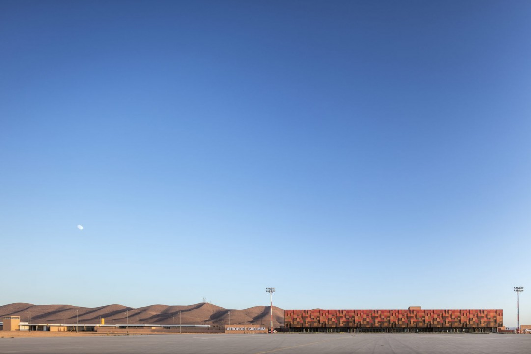Groupe3Architects designed Morocco's Tuareg-inspired Guelmim Airport as 'piece of land art'