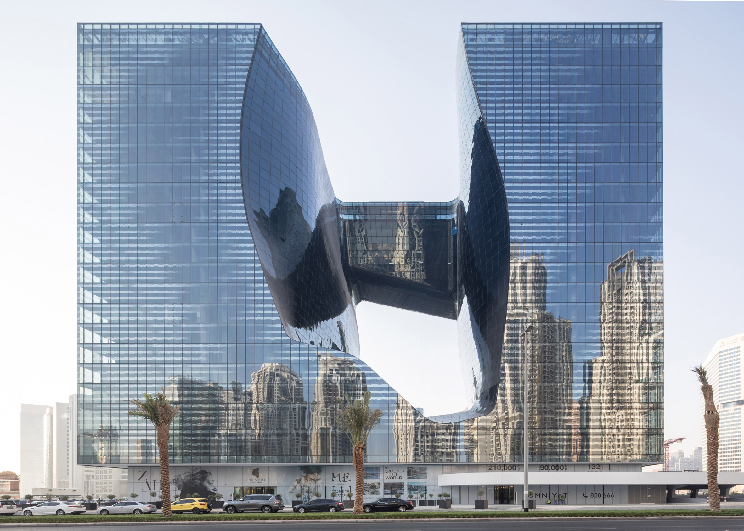 Zaha Hadid-designed hotel in The Opus opens March 1