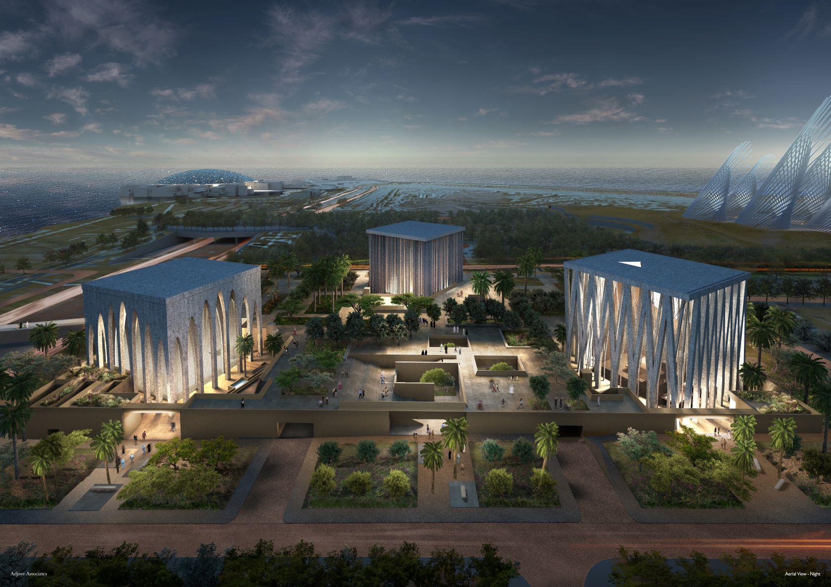 David Adjaye designs Abrahamic Family House in Abu Dhabi comprising a mosque, church and synagogue