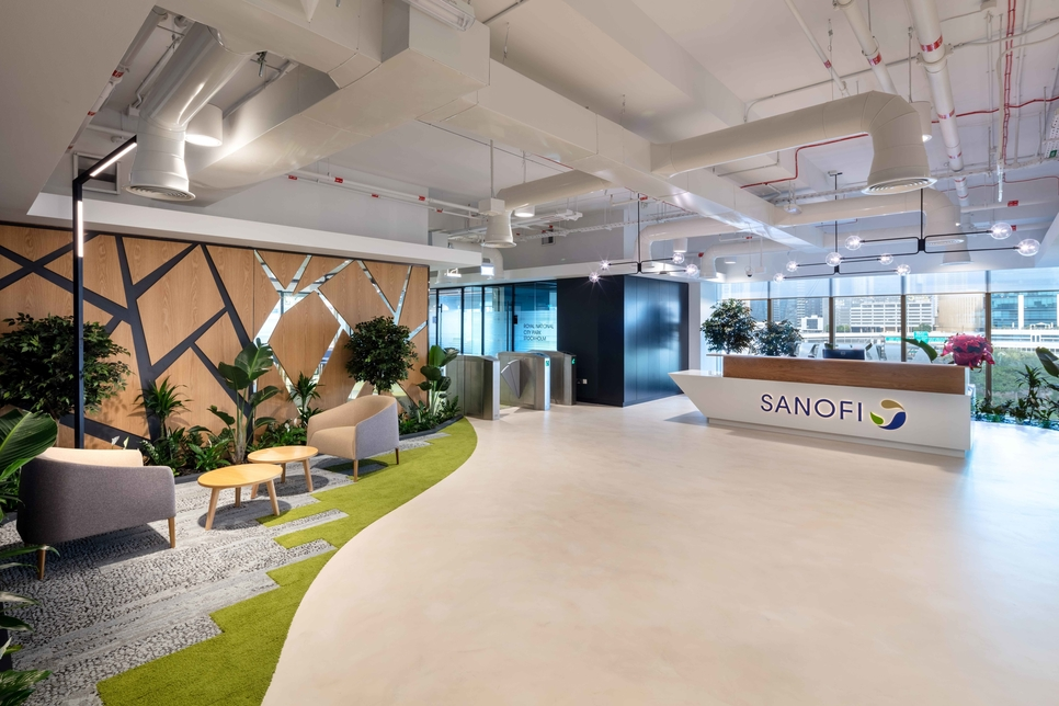 Summertown does a green fit-out for Sanofi