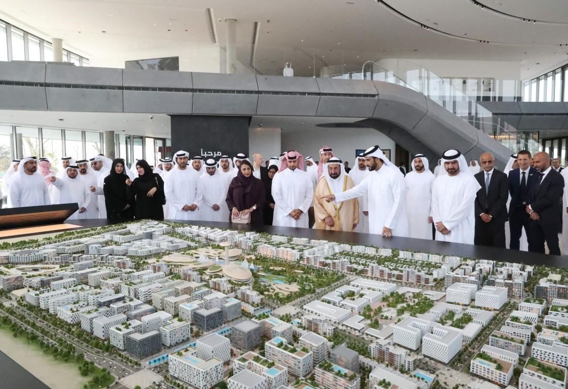 Sharjah Ruler opens edutainment complex