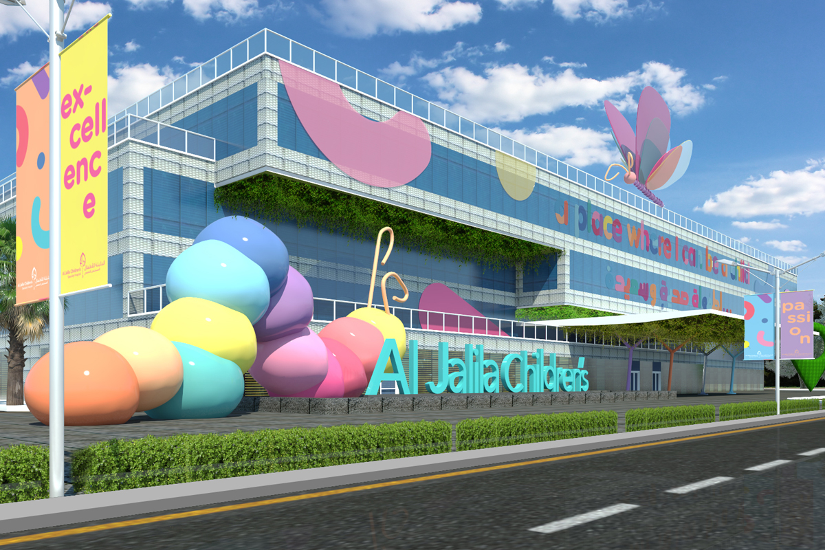 In Pictures: How Brand Creative re-imagined  Al Jalila Children's Hospital