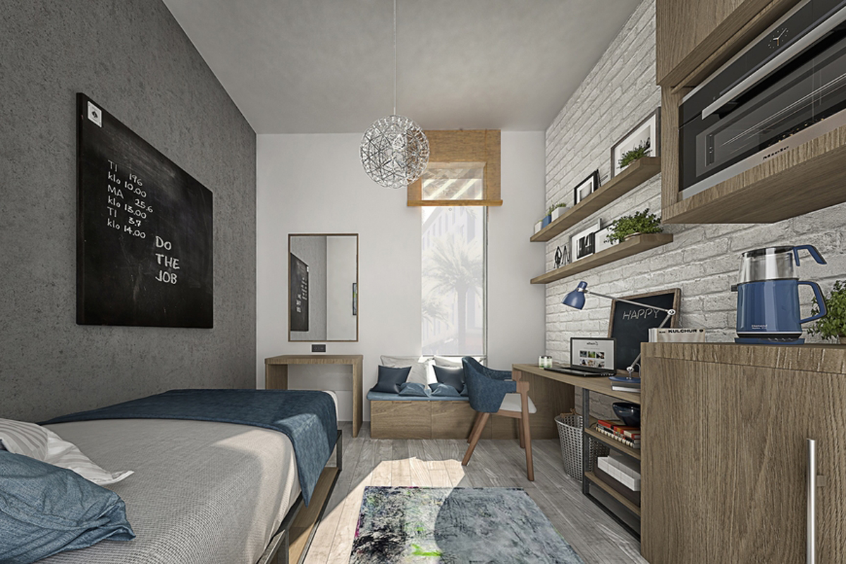 Dubai's first student housing community is 90 per cent complete