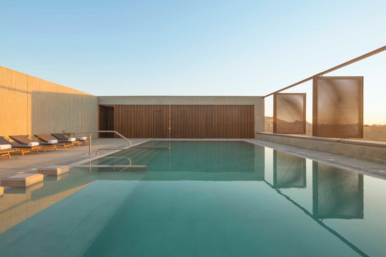 ANARCHITECT took an interesting approach to designing Al Faya Desert Retreat & Spa in Sharjah
