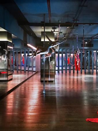 In Pictures: Studio Republik gym in Dubai, by Lulie Fisher Design Studio