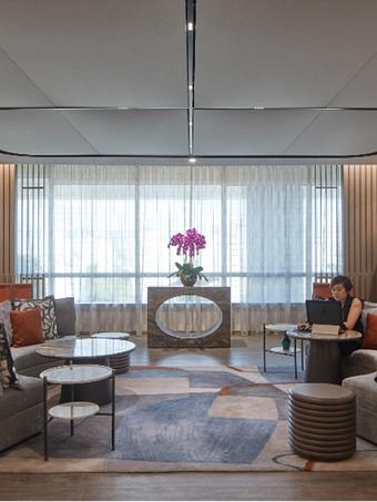 Aedas interior design practice makes over its Singapore office