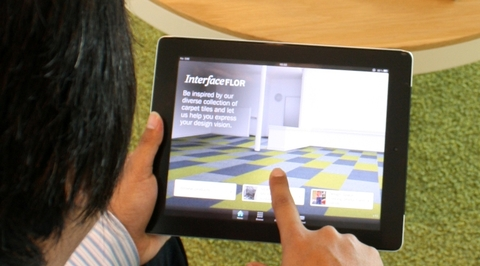 InterfaceFLOR launches app for iPads, PCs and laptops