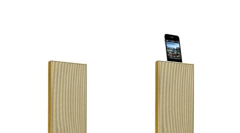 Starck designs wireless stereo speakers: Zikmu Parrot