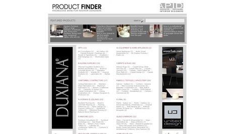 APID launches product finder service online