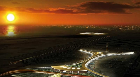 King Abdulaziz International Airport expansion in Jeddah is 90% complete