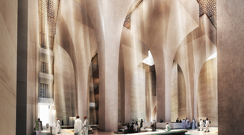 Major development planned for Islamic holy site by Foster + Partners
