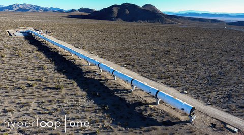 First images of Nevada desert Hyperloop unveiled at Middle East Rail