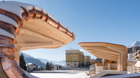 Foster + Partners renovates Swiss pavilion for Winter Olympics