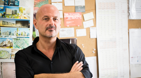 Cristiano Luchetti on using OMA's Concrete building in Dubai as an architectural metaphor