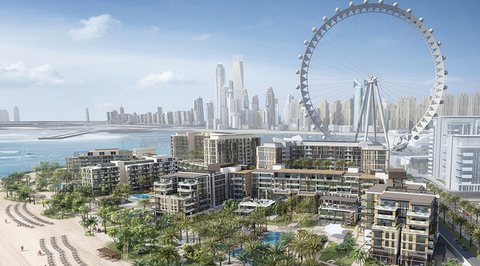 Meraas launches mid-scale luxury hotels as part of Bluewaters Island in Dubai