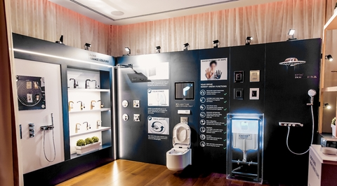Grohe unveils its latest products to UAE designers