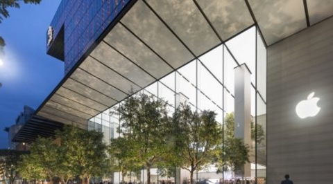 Apple opens flagship store designed by Foster + Partners in Singapore