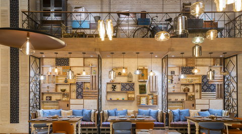 First look: Blue Camel draws inspiration from classic Arabic courtyards for the third Awani outlet in Dubai Mall