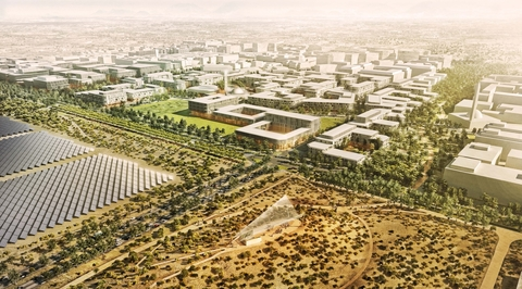 Construction underway for CBT-designed Masdar Phase 2 masterplan