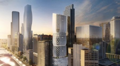 Zaha Hadid Architects to design Mandarin Oriental hotel and residences in Melbourne