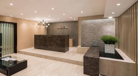 Swiss Bureau designs office for SFM in Dubai's Opal Tower