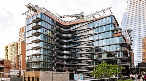Zaha Hadid's award-winning New York condo nears completion