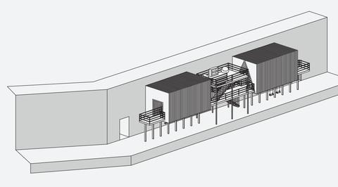 Shepherd Design Studio creates pavilion inspired by Saudi architecture for Saudi Design Week