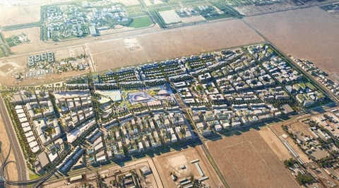 New Sharjah masterplan by Woods Bagot is inspired by the emirate's old neighbourhoods