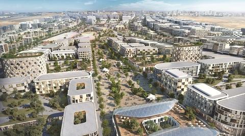 Renderings revealed for Woods Bagot-designed Aljada masterplan in Sharjah