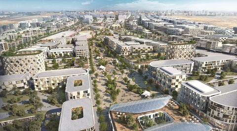 Renderings revealed for Woods Bagot-designed Aljada masterplan in Sharjah