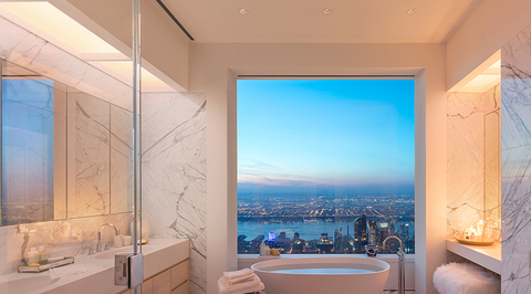 Video: Inside the highest completed penthouse in New York by Kelly Behun