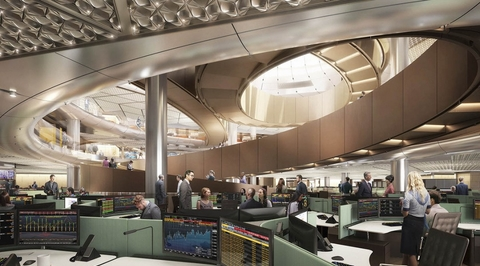 Foster + Partners-designed Bloomberg London office is world's most sustainable
