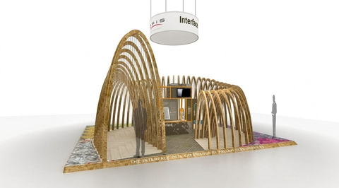 Pallavi Dean creates biophilia-led Interface stand for Downtown Design