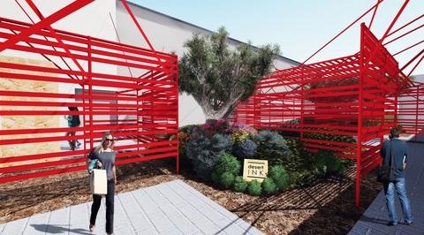 desert INK to design maze-like installation for Downtown Design