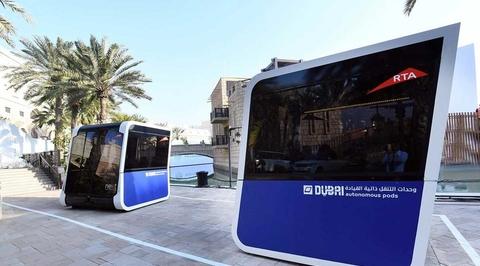 Dubai unveils world's first 'driverless' pods