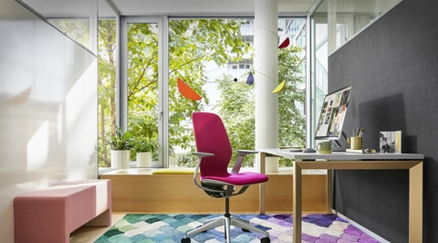 Steelcase's new chair that responds to human movements can rival plastic office furniture