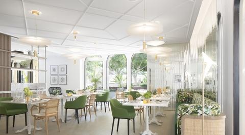Pallavi Dean Interiors' first restaurant in Sharjah combines European designs with local craftsmanship
