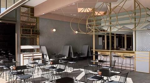 Binchy and Binchy Architecture creates geometric interiors for boutique restaurant in Dubai