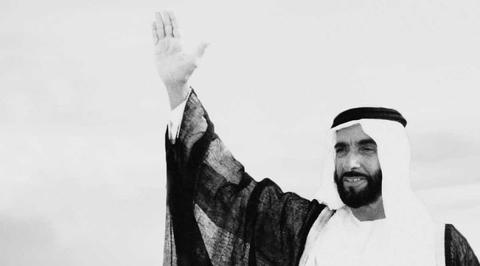 A monumental art work will be the main feature of the late Sheikh Zayed's Memorial in Abu Dhabi