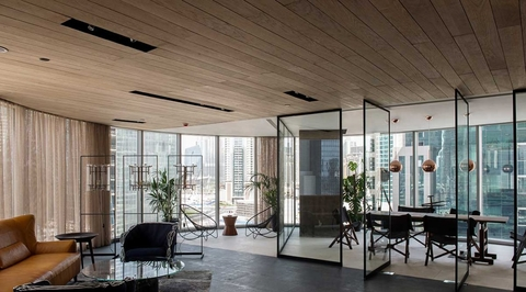 T.ZED Architects' office space for KOA challenges conventional office design