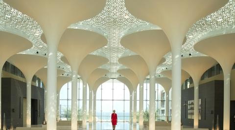A look inside Woods Bagot-designed Kempinski Hotel in Muscat