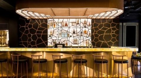 Bishop Design gives Dubai-based Caramel Group's first London outpost an art deco flavour