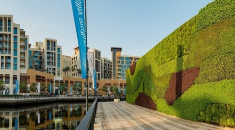 Dubai becomes home to the largest living green wall in the Middle East