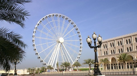 Sharjah's giant wheel to be moved to a new location