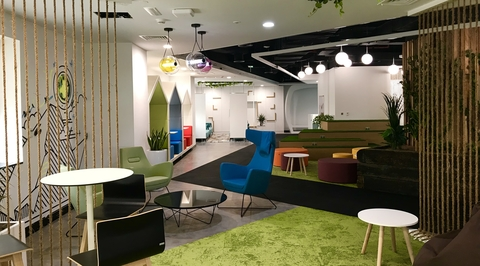 Broadway Interiors designs DEWA's new office which promotes learning and creative thinking