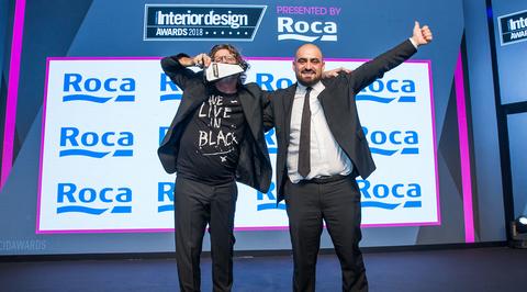 Paul Bishop wins the Interior Designer of the Year at CID Awards 2018