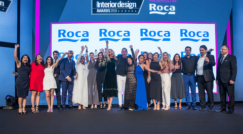 Wilson Associates wins the Interior Design Firm of the Year award at Commercial Interior Design Awards 2018