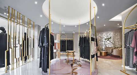 New retail outlet Mauzan by Brand Creative combines Middle Eastern culture and contemporary feminine aesthetic