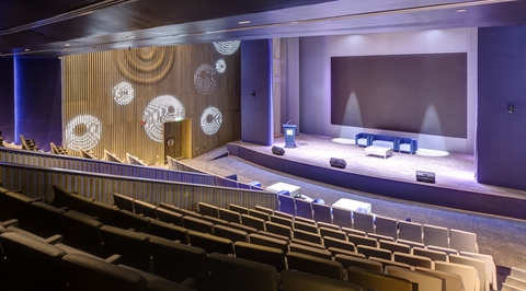 IRD uses water ripple effect to create dynamism and serenity for new DEWA Auditorium